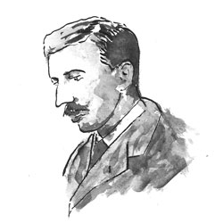 drawing of Forster