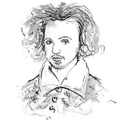 drawing of Marlowe