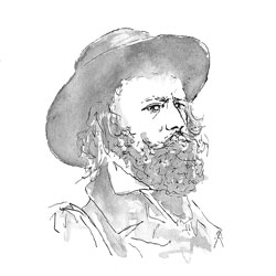 drawing of Tennyson