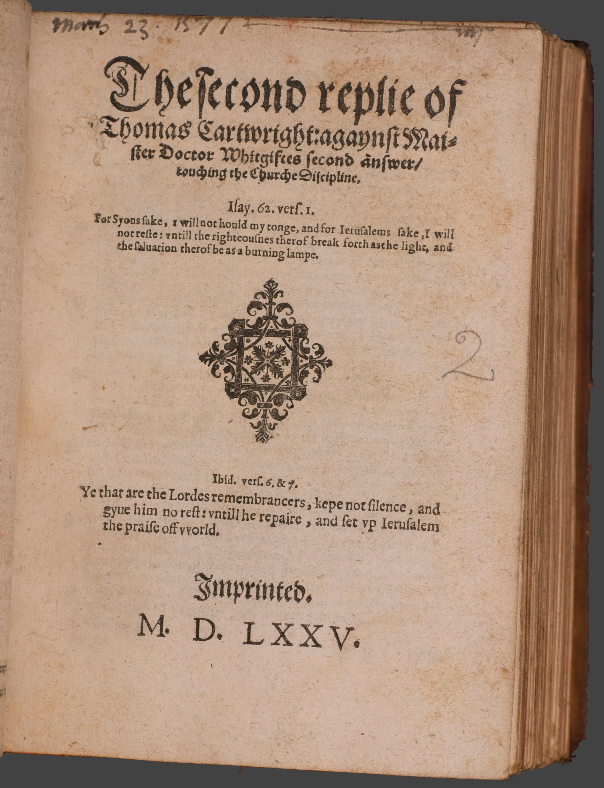 thesis on puritan beliefs