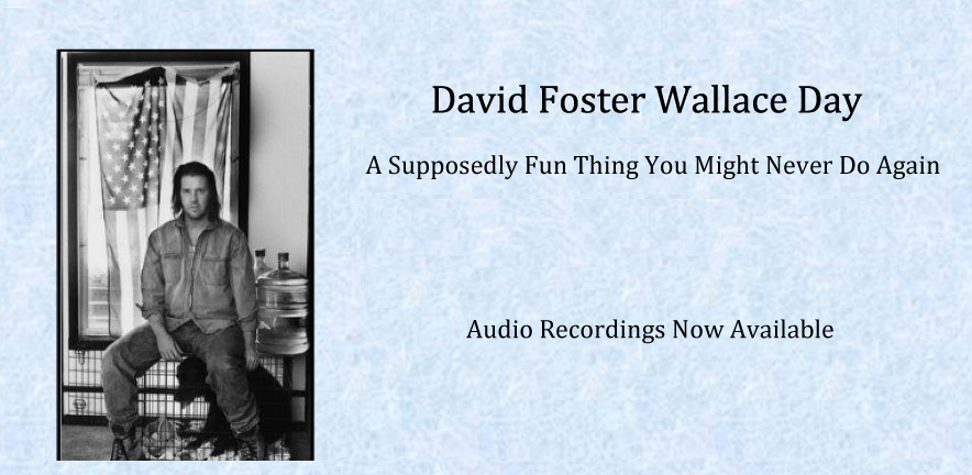 David Foster Wallace Audio Recordings Available