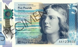 Image credit: Nan Shepherd on £5 note http://www.theguardian.com/books/2016/apr/25/nan-shepherd-first-woman-scottish-bank-note