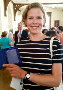 Dr Hazel Wilkinson at the Awards Ceremony on 20th June 2016.