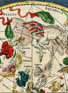 Image credit: detail from Celestial map from the 17th century, by the Dutch cartographer Frederik de Wit via Wikicommons