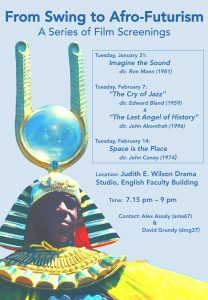 From swing to afro-futurism_film screenings