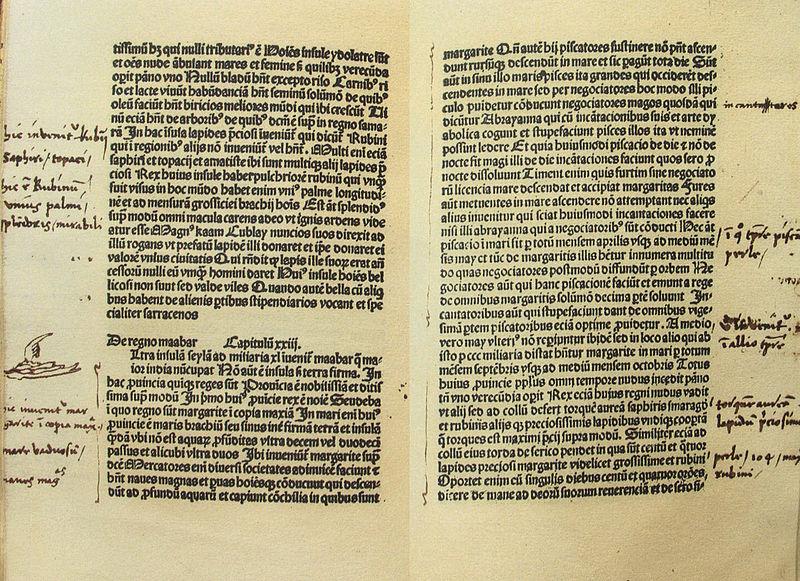 De consuetudinibus et conditionibus orientalium regionum. [Goudae : Gerardus Leeu, ca. 1483-1484].