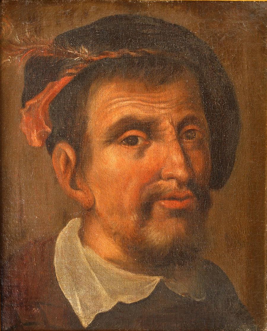 Retrato de Hernando Colón. Reproducido con permiso del Cabildo Catedral de Sevilla. Biblioteca Capitular Colombina.